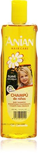 Anian Niños Suave Manzanilla Shampoo