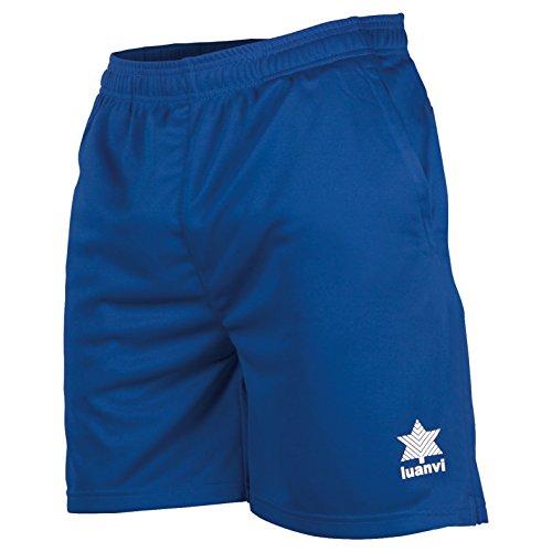 Luanvi Walk Bermudas de Tenis, Hombre, Azul Royal, L