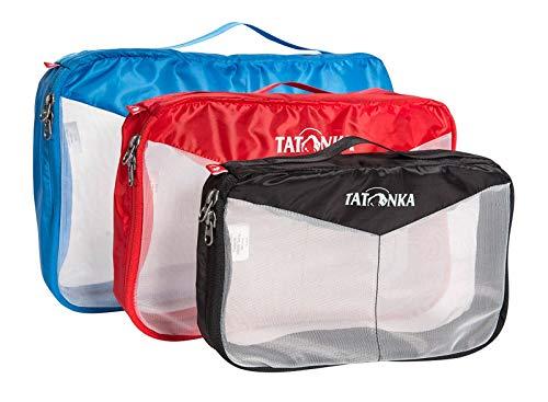 Tatonka Mesh Bag Set Beutel, Assorted, 35 x 22 x 8 cm