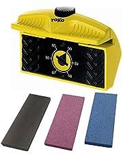 Juego de lijadora de bordes con afinador Edge de Toko, incluye piedras de óxido de aluminio de SKS.