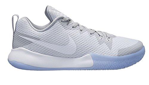 Nike Herren Zoom Live Ii Basketballschuhe, Weiß (White/White-Wolf Grey-Pure Pla 101), 47.5 EU