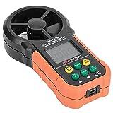 MIJPOJAN Herramienta PM6252B Calibrador de Velocidad del Viento Alta precisión Handheld Digital Anemómetro Medidor de Velocidad del Viento Medidor