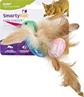 SmartyKat, Hum Singer, Electronic Sound Cat Toy, Interactive Chirping Hummingbird, with Catnip and Feathers, Battery Powered 141[並行輸入]