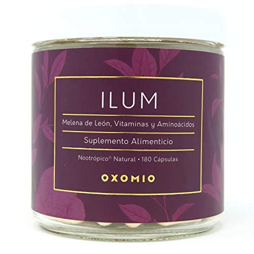 Ilum de Oxomio - Nootrópico para impulso mental (180 cápsulas)