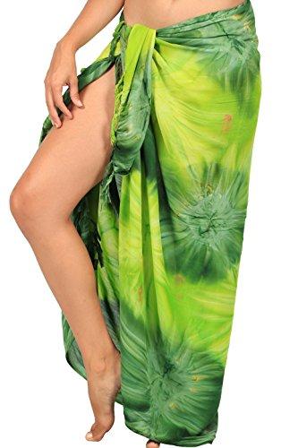 INGEAR Beach Long Sarong (One Size, Light Green)