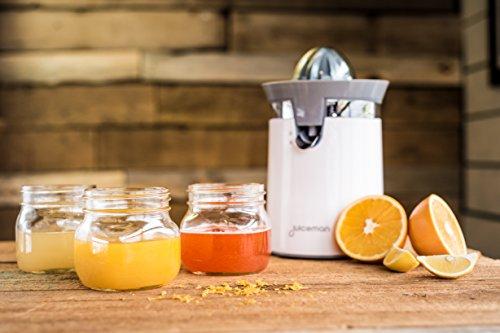Juiceman Citrus Juicer, White, JCJ450