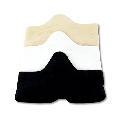 Keep Cool & Dry Bamboo Under-Bra Liners (S) - Natural, thermoregulating, Wicking