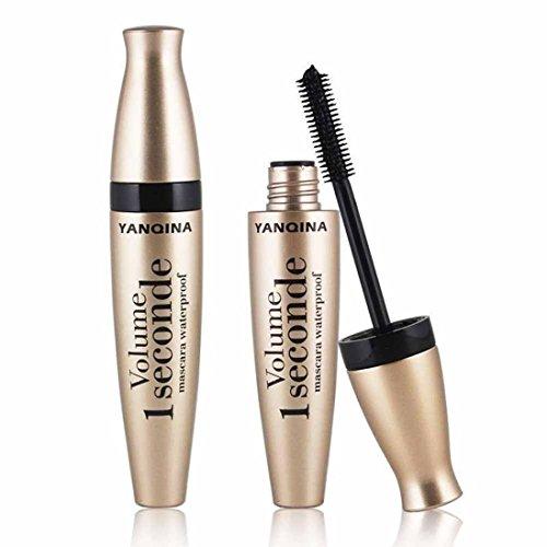 Cinnamou 3D Mascara Fiber Long Noir Lash Cils Extension Imperméable À L'eau Maquillage Extension Outil