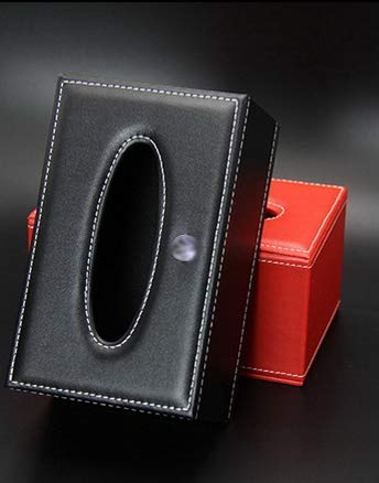 クラウン200系 210系 220系車載ティッシュボックス 高級品 選び 満赤 満黒 (レッド) [並行輸入品]