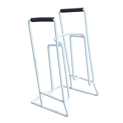 Homymusy Stocking Donner,for Elderly, Disabled,Pregnancy Hip,Knee or Back Injuries,White