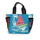 What A Melon Handtasche Damen Mode Tasche Wiederverwendbare Einkaufstaschen Licht Handtaschen Hohe Kapazität Geschenktüten Lebensmittelbeutel