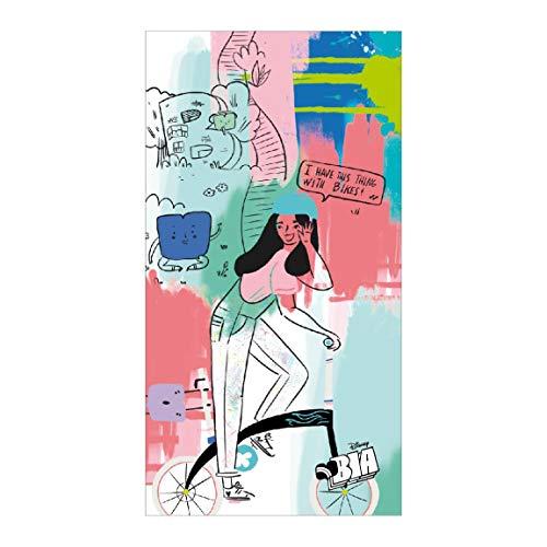 CERDÁ LIFE'S LITTLE MOMENTS Toalla Playa Infantil Bia, Multicolor, 70 x 140 cm
