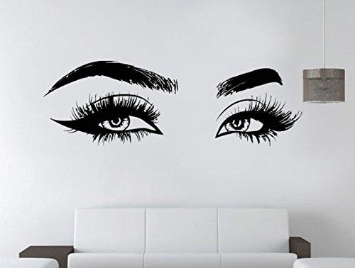 Money Eye Wall Art Sticker Vinyl Decal Custom Home Decor