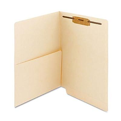 """PDC Healthcare ETF144 End Tab Folder, 2-ply, FAS #1, 11Pt Manila, Half Pocket on Left Side, 12 1/4"""" x 9 1/2"""" (Pack of 250)"""