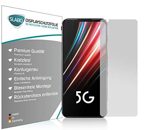 Slabo 4 x Bildschirmschutzfolie für Nubia Red Magic 5G Bildschirmfolie Schutzfolie Folie Zubehör No Reflexion MATT