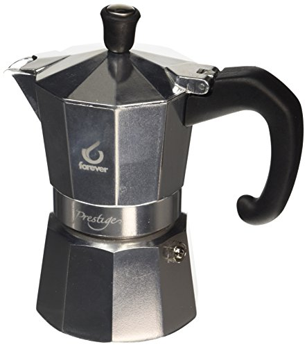 FOREVER KG120102'Moka Prestige' Espressokocher, 2Tassen
