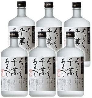 【米焼酎】新潟県 八海醸造 八海山 米焼酎 宜有千萬 (よろしくせんまんあるべし) 720ml×6本 セット