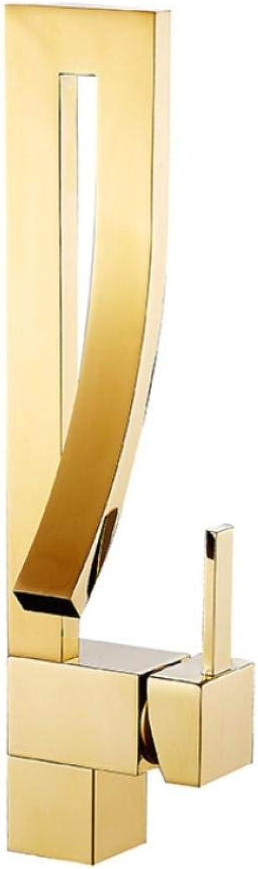 Lddpl Wasserhahn Chrom poliert Waschbecken Wasserhahn Deck montiert Waschbecken Wasserhahn Set Mischbatterie Einlochmontage Einhand