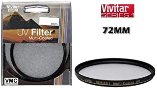 Multi-Threaded Circular Polarizing Filter Alternative for Tiffen Part# 77CP + Nwv Direct Microfiber Cleaning Cloth. Vivitar High Grade Multi-Coated 77mm