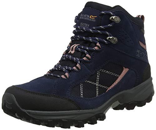 Regatta Damskie buty trekkingowe Clydebank, niebieski - Niebieski granatowy Ashrose - 38 EU