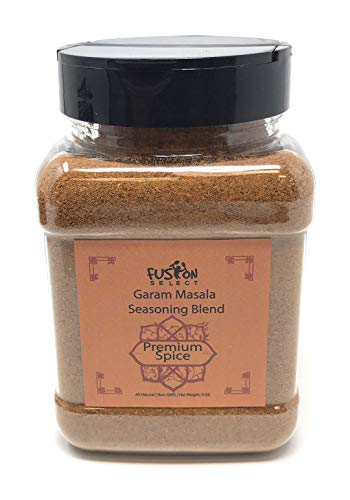 Fusion Select Spice Garam Masala Spice 6 Oz Blend Indian Spice Blend Authentic Indian Food Spice | All Natural | Vegan | Non-GMO | No Colors | Salt Free