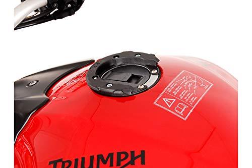 SW-MOTECH EVO Tankring, QUICK-LOCK Funktion, Schwarz für MV Agusta/Triumph mit 6 Schrauben Tank