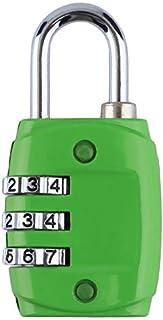 亜鉛合金のセキュリティ3桁のダイヤルコンビネーションコード番号ロック南京錠用に荷物のジッパーバックパックハンドバッグスーツケース引き出し
