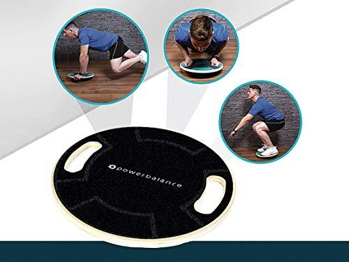 PowerBalance - Professional Balance Boards, Balance Trainers, Core Training, Fitness and Rehabilitation Balance Boards (Dark Night Wobble Board)