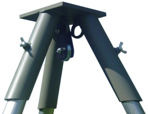 Boss Buck Tripod Header II Unit with Pulley, Green