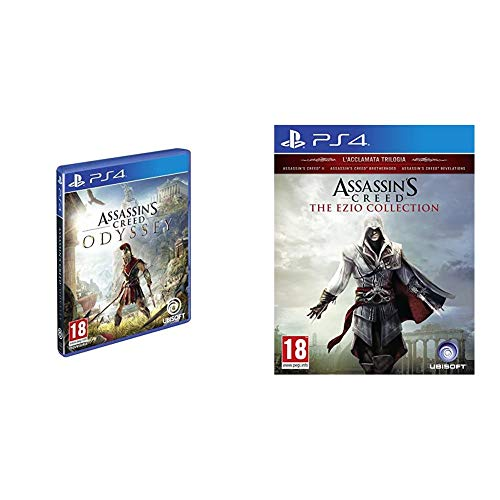 Assassin'S Creed Odyssey - PlayStation 4 & Creed The Ezio Collection HD Collection PlayStation 4