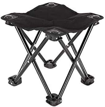 Rowa Folding Campingstuhl 600D Oxford Bank Hocker Liegestuhl Tragbare Gartenstühle for das Angeln im Freien Wandern Picknick Wandern Garten Angeln Picknick Sport Barbecue