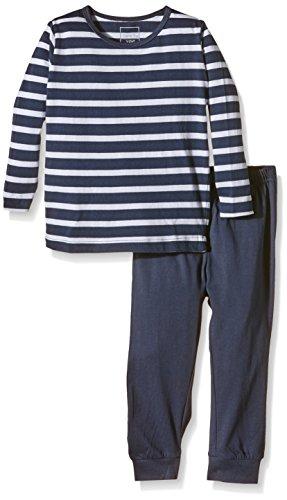 NAME IT Baby-Jungen NITNIGHTSET M B NOOS Zweiteiliger Schlafanzug, Mehrfarbig (Dress Blues), 104