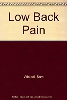 Low Back Pain 0874734495 Book Cover