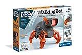 Clementoni-55289 - Walking Bot - robot para montar y jugar a partir de 8 años