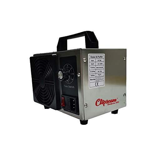Generador de Ozono industrial 10.000 mr/h para superficies de hasta 150 m², Limpiador de ozono, Dispositivo de ozono para Habitaciones, Coches, Humo, y Mascotas. Vida útil de 20.000 horas