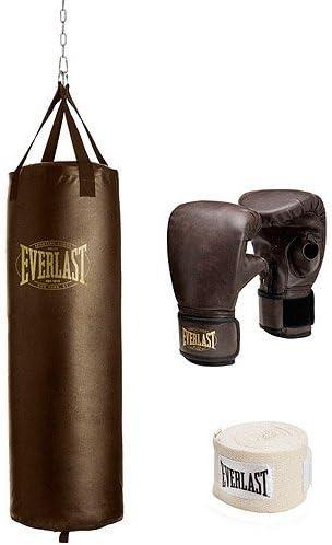 Everlast List price 100 lb Vintage Kit Bag Heavy Ranking TOP19