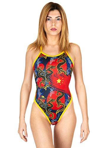 Turbo China Dragon - Costume Intero Donna