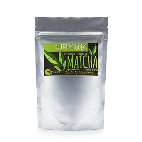 Yupik Organic Japanese Matcha Green Tea Powder, 250g
