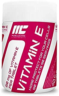 Muscle Care supplements I-NC. Muscle Care Vitamin E | 90 capsules