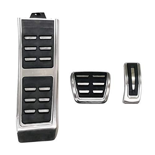 Pedal de reposapiés 3 en 1 Transmisión Manual freno antideslizante pedal de freno cubierta del cojín protector del kit del sistema, for Porsche Macan 2019