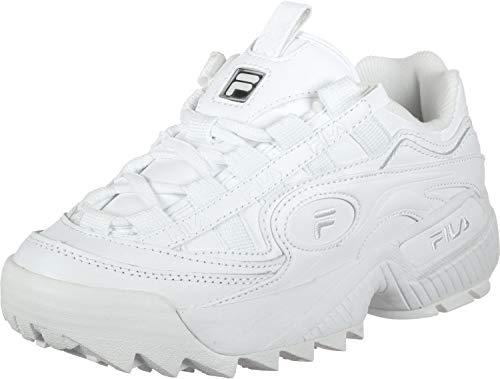 Fila Womens D Formation White White Size 11