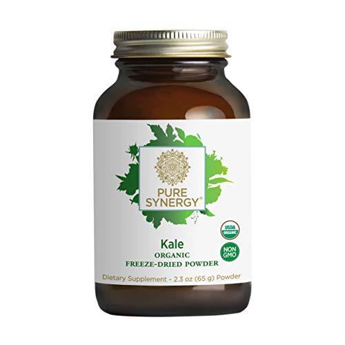 Pure Synergy USDA Organic Kale Powder (2.3 oz) USA & EU Grown, Non-GMO