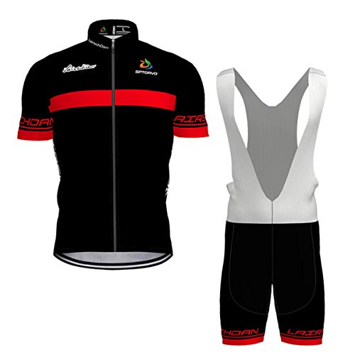Maillot Ciclismo INBIKE Ropa Conjunto Traje Equipacion Ciclismo Hombre Verano con 3D Acolchado De Gel Pantalon//Culote Bicicleta para MTB Ciclista Bici