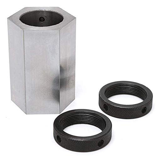 Sale!! KONGZIR 5-C Hexagon Collet Block Hard Steel Collet Block Lathe Tool Holder Metal Lathes
