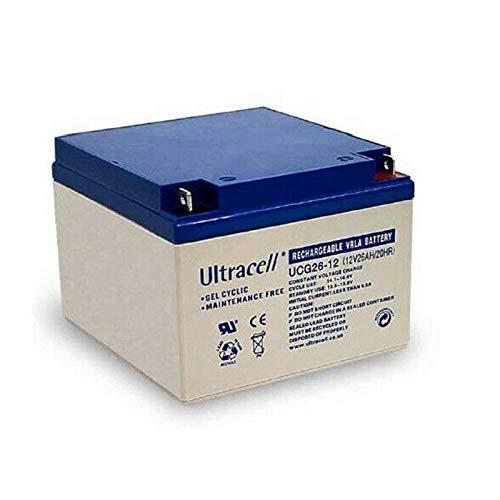 Ultracell - Batterie décharge profonde GEL UCG 12V 26Ah