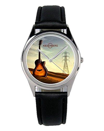 Geschenk für Gitarren Spieler Musiker Uhr B-1993