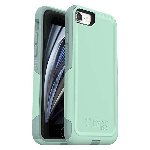 OtterBox COMMUTER SERIES Case for iPhone SE (2nd Gen - 2020) & iPhone 8/7 (NOT PLUS) - Retail Packaging - OCEAN WAY (AQUA SAIL/AQUIFER)