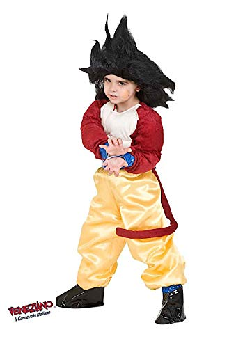 VENEZIANO Costume Carnevale da Dragon GT Baby Vestito per Bambino Ragazzo 1-6 Anni Travestimento Halloween Cosplay Festa Party 8114 5 Anni
