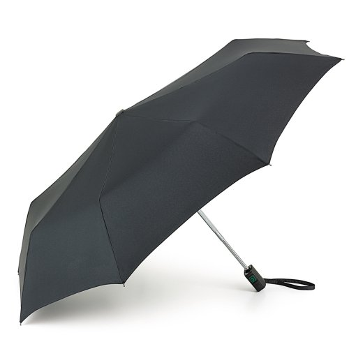 Fulton Fulton Open Close 17 Black Unisexadult Umbrella Black One Size