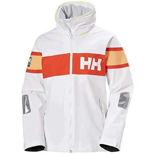 Helly Hansen W Salt Flag Jacket Chaqueta, Mujer, 004 White, S